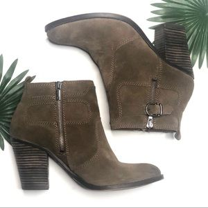 """Lucky Brand Shoes - Lucky Brand Everalda Heeled Booties Size 9.5"""""""